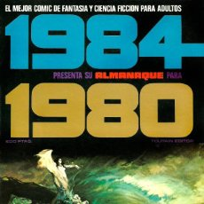Cómics: COMIC 1984 ALMANAQUE 1980 - TOUTAIN EDITOR - 1979 - BUEN ESTADO - FANTASIA Y CIENCIA FICCION. Lote 278638073