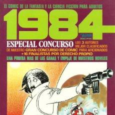 Cómics: COMIC 1984 ESPECIAL CONCURSO COMIC - TOUTAIN EDITOR - BUEN ESTADO - AÑO 1984. Lote 278638218
