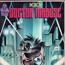 Cómics: DOCTOR MABUSE - BEROY - JOYASD E CREEPY TOUTAIN EDITOR 1987. Lote 280802398