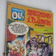 Comics: MORTADELO Y FILEMÓN. COLECCIÓN OLÉ, Nº 141 BRUGUERA ARX128. Lote 280821143