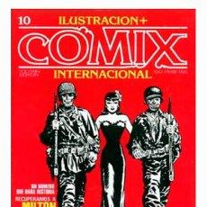 Fumetti: COMIX INTERNACIONAL Nº 10 - TOUTAIN EDITOR - 1981 - PERFECTO ESTADO. Lote 280971768