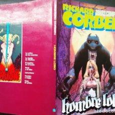 Fumetti: RICHARD CORBEN OBRAS COMPLETAS, N⁰ 2 HOMBRE LOBO. Lote 280999928