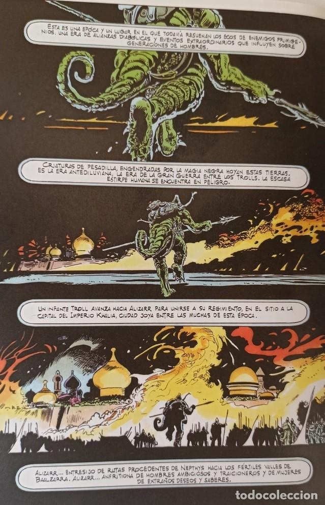 Cómics: GHITA DE ALIZARR - COLECCIÓN COMPLETA 2 NUMEROS - FRANK THORNE - TOUTAIN EDITOR. - Foto 5 - 281795448