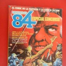 Cómics: ZONA 84 ESPECIAL CONCURSO - EDICIÓN CONJUNTA CON COMIX INTERNACIONAL.. Lote 281936058