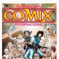 Comics: COMIX INTERNACIONAL Nº 28 - TOUTAIN EDITOR - 1983 - MUY BUEN ESTADO. Lote 282008938