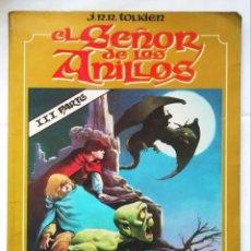 Comics: EL SEÑOR DE LOS ANILLOS . III PARTE. J.R.R. TOLKIEN. TOUTAIN. CCTT. Lote 282542123
