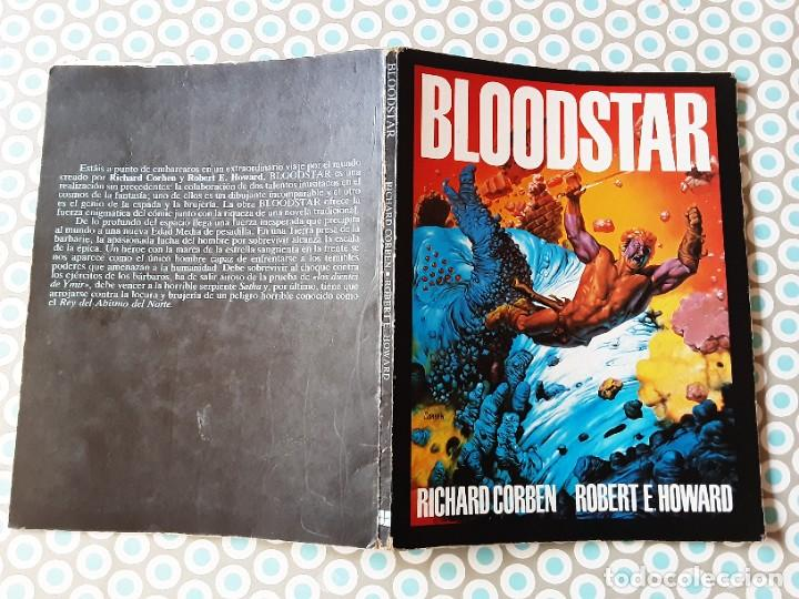 RICHARD CORBENN, BLOODSTAR, EDICIÓN ORIGINAL 1981 (Tebeos y Comics - Toutain - Obras Completas)