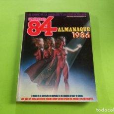 Cómics: ZONA 84 ALMANAQUE 1986 - EXCELENTE ESTADO. Lote 283004388