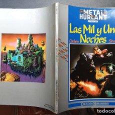 Comics: RICHARD CORBEN & JAN STRNAD, LAS MIL Y UNA NOCHE, PRIMERA EDICIÓN 1981. Lote 283023223