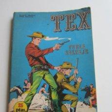 Fumetti: TEX Nº 14: FURIA SALVAJE EDICIONES BURU-LAN, 1971 ARX136. Lote 283458283