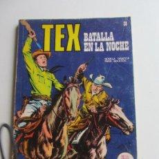 Comics: TEX Nº 38 BATALLA EN LA NOCHE - EDICIONES BURU-LAN, 1971 ARX136. Lote 283462033