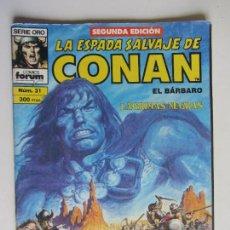 Comics: LA ESPADA SALVAJE DE CONAN EL BARBARO Nº 31. 2 ª EDICION. FORUM E2. Lote 285435383