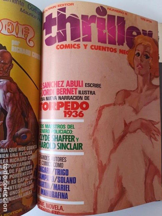 Cómics: THRILLER Y K.O. COMICS COLECCIONES COMPLETAS EN RUSTICA - TOUTAIN EXCELENTE ESTADO - Foto 3 - 286182453