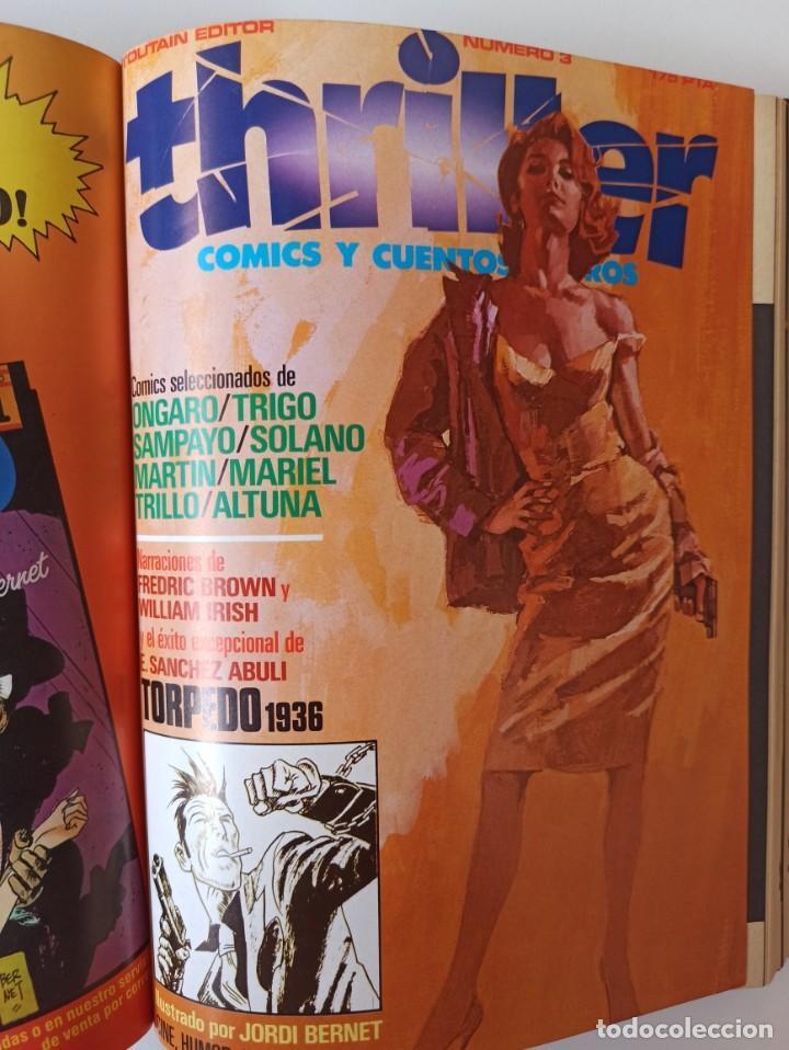 Cómics: THRILLER Y K.O. COMICS COLECCIONES COMPLETAS EN RUSTICA - TOUTAIN EXCELENTE ESTADO - Foto 5 - 286182453