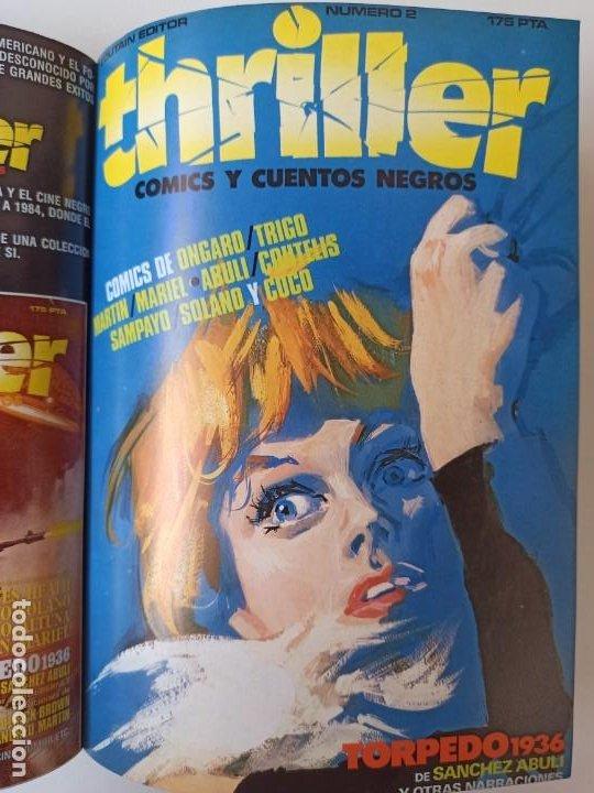 Cómics: THRILLER Y K.O. COMICS COLECCIONES COMPLETAS EN RUSTICA - TOUTAIN EXCELENTE ESTADO - Foto 6 - 286182453