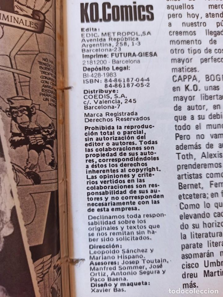 Cómics: THRILLER Y K.O. COMICS COLECCIONES COMPLETAS EN RUSTICA - TOUTAIN EXCELENTE ESTADO - Foto 12 - 286182453