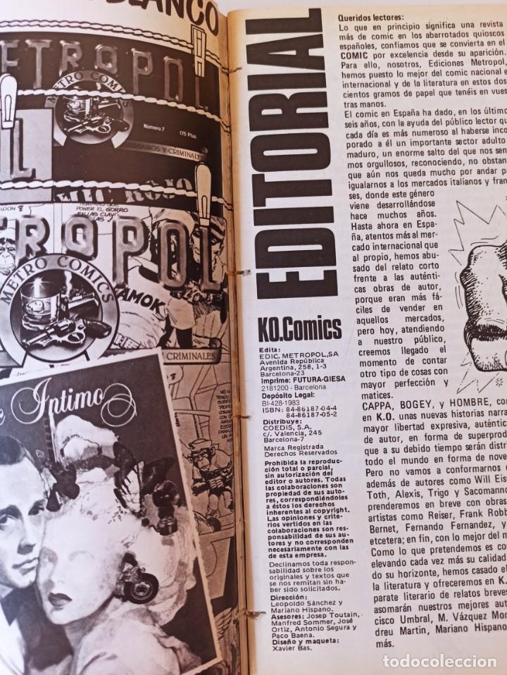 Cómics: THRILLER Y K.O. COMICS COLECCIONES COMPLETAS EN RUSTICA - TOUTAIN EXCELENTE ESTADO - Foto 13 - 286182453