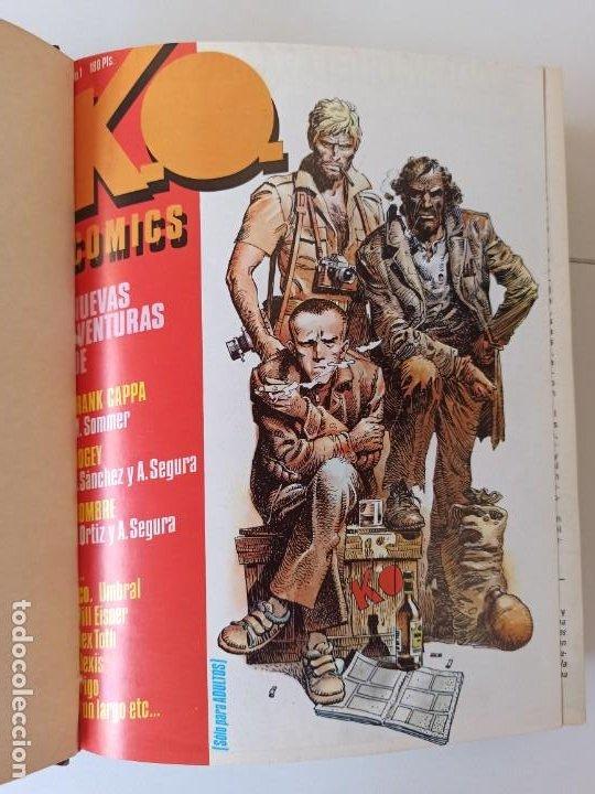 Cómics: THRILLER Y K.O. COMICS COLECCIONES COMPLETAS EN RUSTICA - TOUTAIN EXCELENTE ESTADO - Foto 11 - 286182453