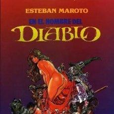Comics: EN EL NOMBRE DEL DIABLO (ESTEBAN MAROTO) TOUTAIN - IMPECABLE PRECINTADO. Lote 286606353