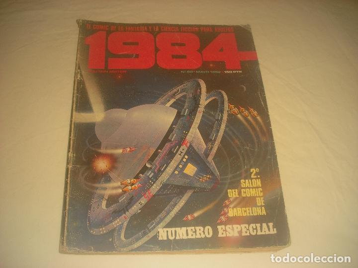 1984. N 40. NUMERO ESPECIAL, 2 SALON DEL COMIC DE BARCELONA. (Tebeos y Comics - Toutain - 1984)