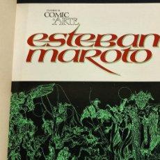 Cómics: CUANDO EL COMIC ES ARTE - ESTEBAN MAROTO - JOSE ORTIZ - PEPE GONZALEZ - FERNANDO FERNANDEZ - TOUTAIN. Lote 286643158
