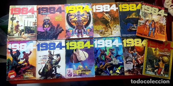LOTE 11 COMICS 1984 + ALMANAQUE 1983 (Tebeos y Comics - Toutain - 1984)