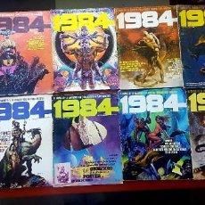 Cómics: LOTE 11 COMICS 1984 + ALMANAQUE 1983. Lote 287136688