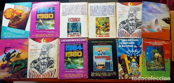 Cómics: Lote 11 comics 1984 + almanaque 1983 - Foto 2 - 287136688