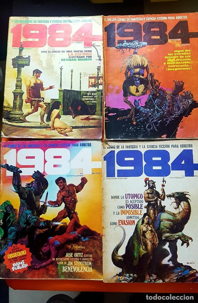 Cómics: Lote 11 comics 1984 + almanaque 1983 - Foto 3 - 287136688