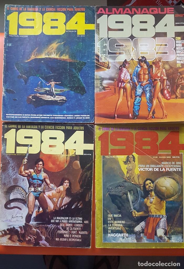 Cómics: Lote 11 comics 1984 + almanaque 1983 - Foto 4 - 287136688