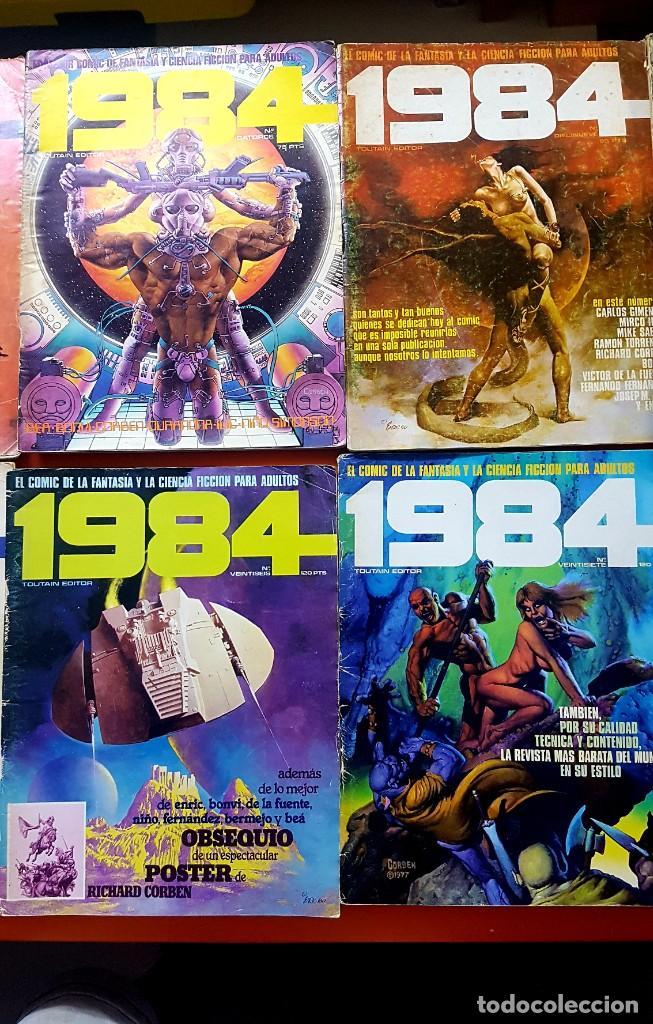Cómics: Lote 11 comics 1984 + almanaque 1983 - Foto 5 - 287136688