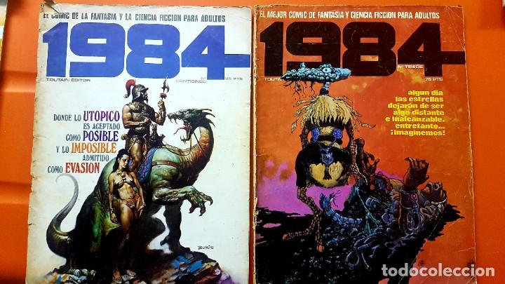 Cómics: Lote 11 comics 1984 + almanaque 1983 - Foto 7 - 287136688