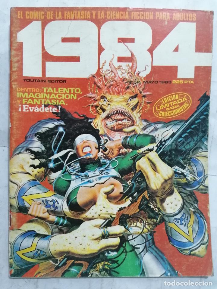 1984, Nº 52 (Tebeos y Comics - Toutain - 1984)