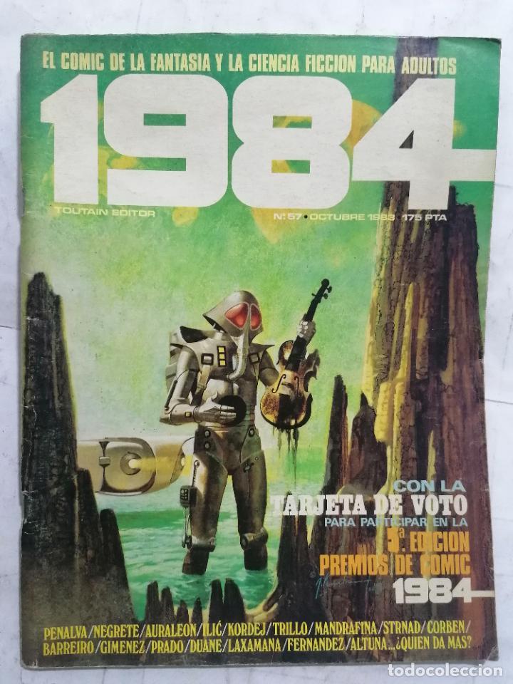 1984, Nº 57 (Tebeos y Comics - Toutain - 1984)