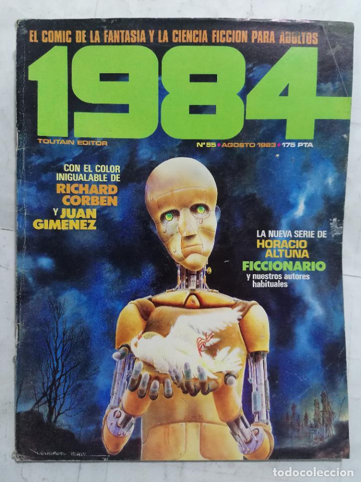 1984, Nº 55 (Tebeos y Comics - Toutain - 1984)