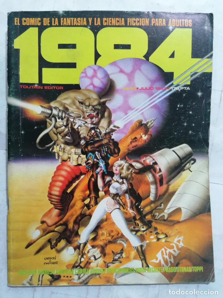 1984, Nº 54 (Tebeos y Comics - Toutain - 1984)