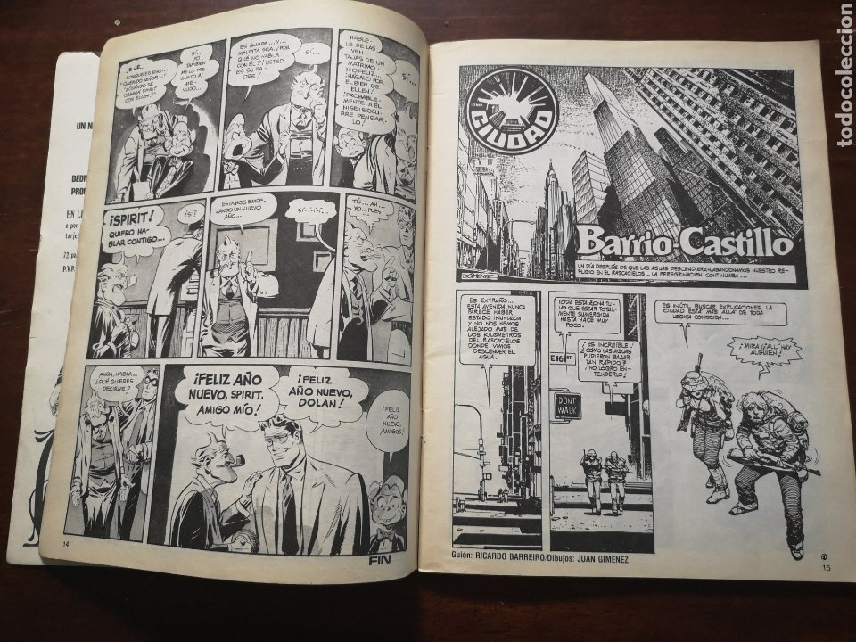 Cómics: Comix ilustración internacional 26. Con Carlos Giménez, will eisner, Martin sauri, Howard chaykin,.. - Foto 4 - 287580428