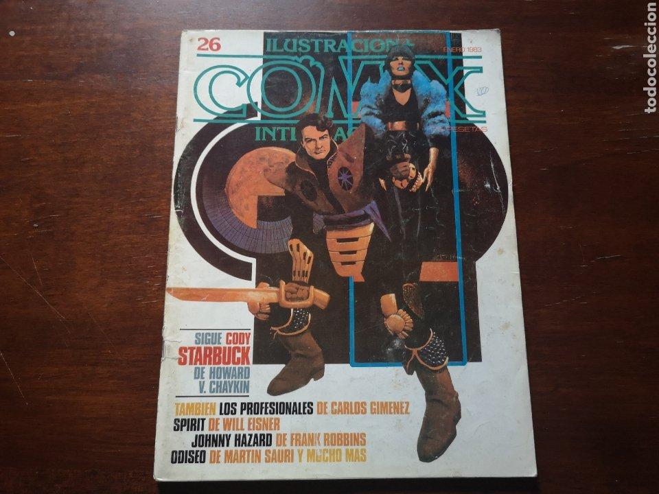 COMIX ILUSTRACIÓN INTERNACIONAL 26. CON CARLOS GIMÉNEZ, WILL EISNER, MARTIN SAURI, HOWARD CHAYKIN,.. (Tebeos y Comics - Toutain - Comix Internacional)