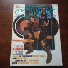 Cómics: COMIX ILUSTRACIÓN INTERNACIONAL 26. CON CARLOS GIMÉNEZ, WILL EISNER, MARTIN SAURI, HOWARD CHAYKIN,... Lote 287580428