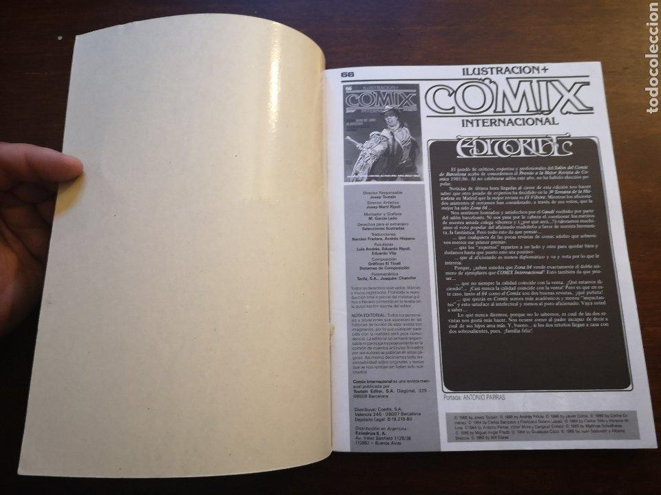 Cómics: Comix internacional extra 21, retapados con núm 66, 67, 68. - Foto 4 - 287593998