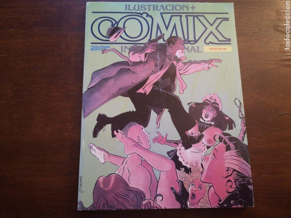 COMIX INTERNACIONAL EXTRA 21, RETAPADOS CON NÚM 66, 67, 68. (Tebeos y Comics - Toutain - Comix Internacional)