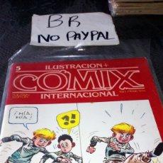 Cómics: ILUSTRACIÓN COMIX INTERNACIONAL TOUTAIN EDITOR NÚMERO 5. Lote 287659018