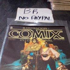 Cómics: ILUSTRACIÓN COMIX INTERNACIONAL TOUTAIN EDITOR NÚMERO 8. Lote 287659358