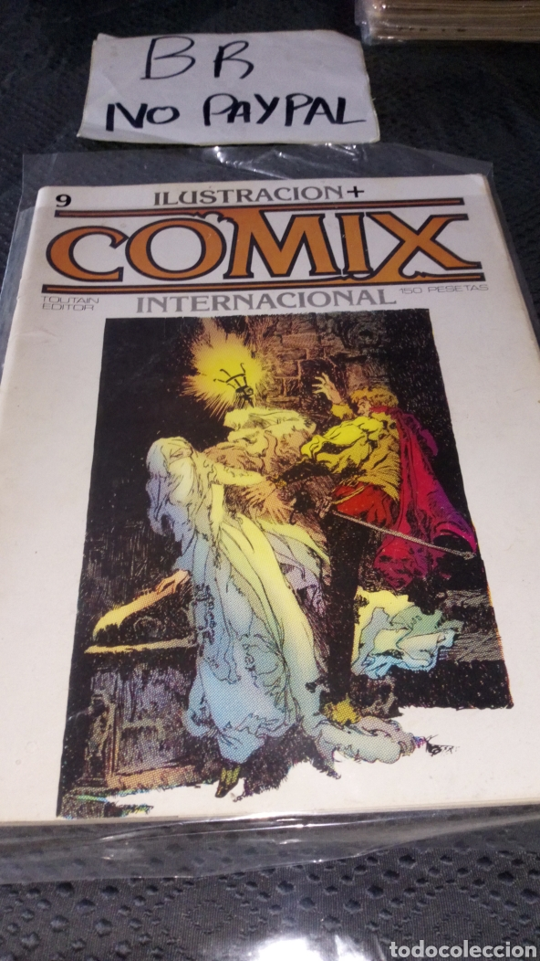 ILUSTRACIÓN COMIX INTERNACIONAL TOUTAIN EDITOR NÚMERO 9 (Tebeos y Comics - Toutain - Comix Internacional)