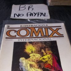 Cómics: ILUSTRACIÓN COMIX INTERNACIONAL TOUTAIN EDITOR NÚMERO 9. Lote 287659503