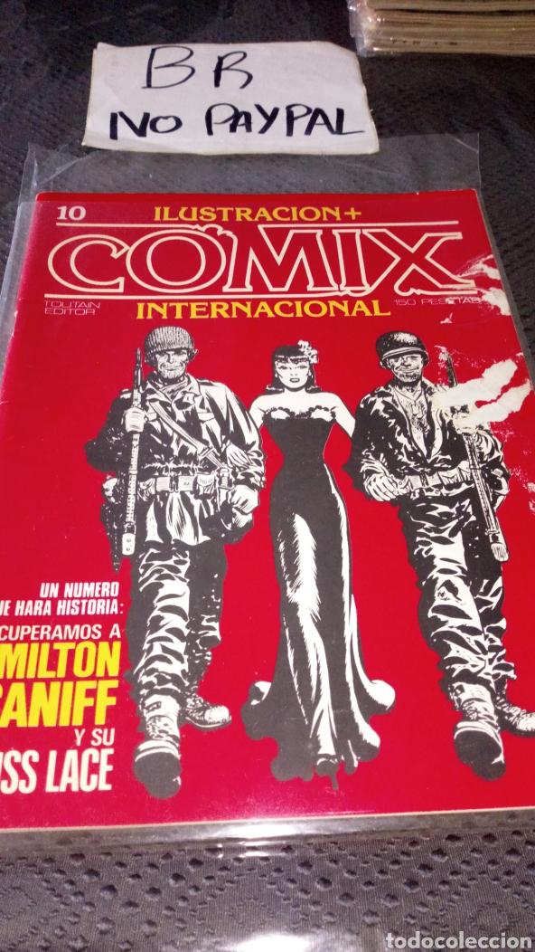 ILUSTRACIÓN COMIX INTERNACIONAL TOUTAIN EDITOR NÚMERO 10 (Tebeos y Comics - Toutain - Comix Internacional)