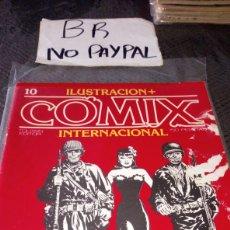 Cómics: ILUSTRACIÓN COMIX INTERNACIONAL TOUTAIN EDITOR NÚMERO 10. Lote 287659608