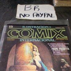 Cómics: ILUSTRACIÓN COMIX INTERNACIONAL TOUTAIN EDITOR NÚMERO 15. Lote 287659713
