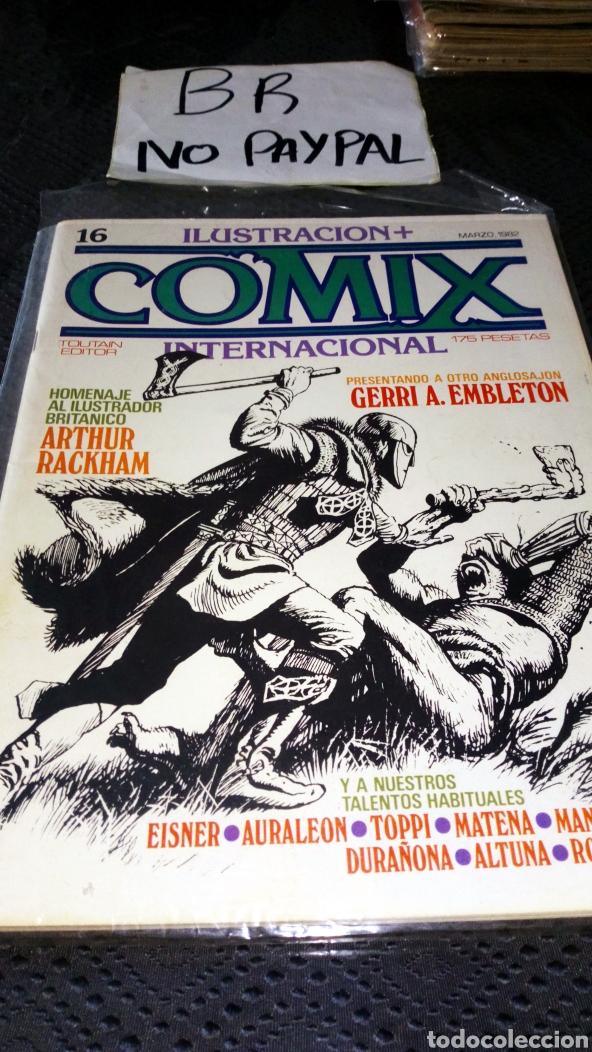 ILUSTRACIÓN COMIX INTERNACIONAL TOUTAIN EDITOR NÚMERO 16 (Tebeos y Comics - Toutain - Comix Internacional)