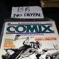 Cómics: ILUSTRACIÓN COMIX INTERNACIONAL TOUTAIN EDITOR NÚMERO 16. Lote 287659773